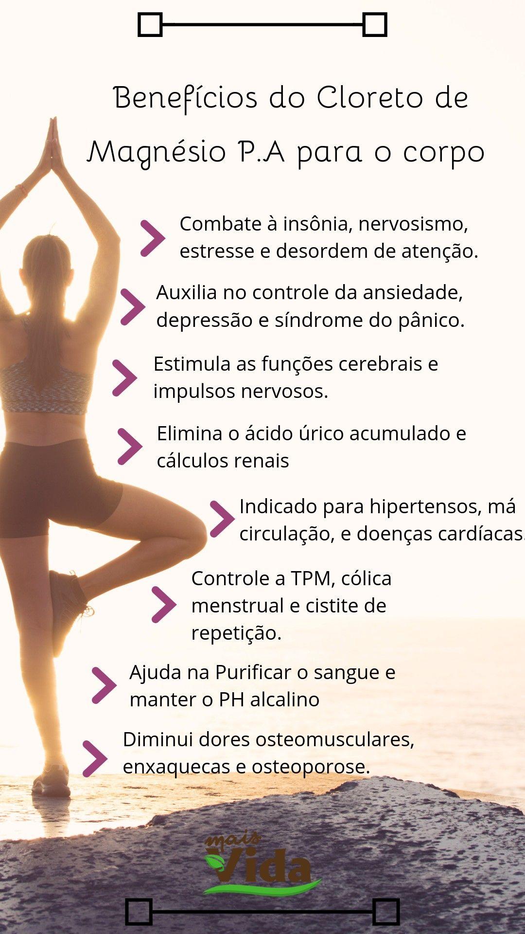 21 Benefícios Do Cloreto De Magnésio Beneficios Do Cloreto De Magnesio P A Para O Corpo