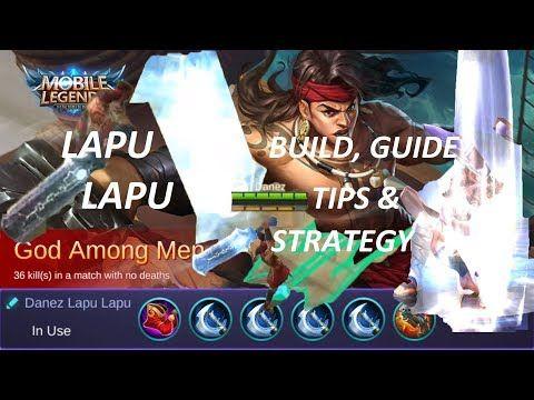 Mobile Legends Lapu Lapu Guide Best Item Build Tips
