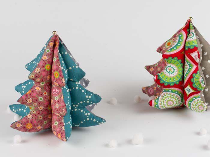 diy anleitung patchwork deko weihnachtsbaum n hen via diy eule weihnachtsb ume. Black Bedroom Furniture Sets. Home Design Ideas