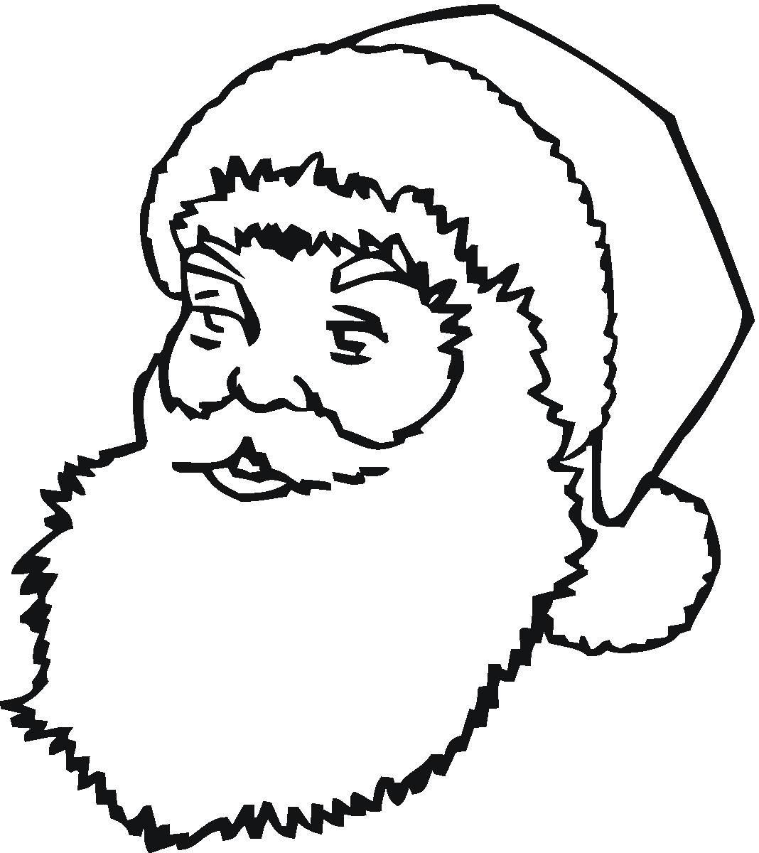 Santa Claus Sleigh Coloring Pages | Free Printable Santa Claus Coloring PagesFor Kids