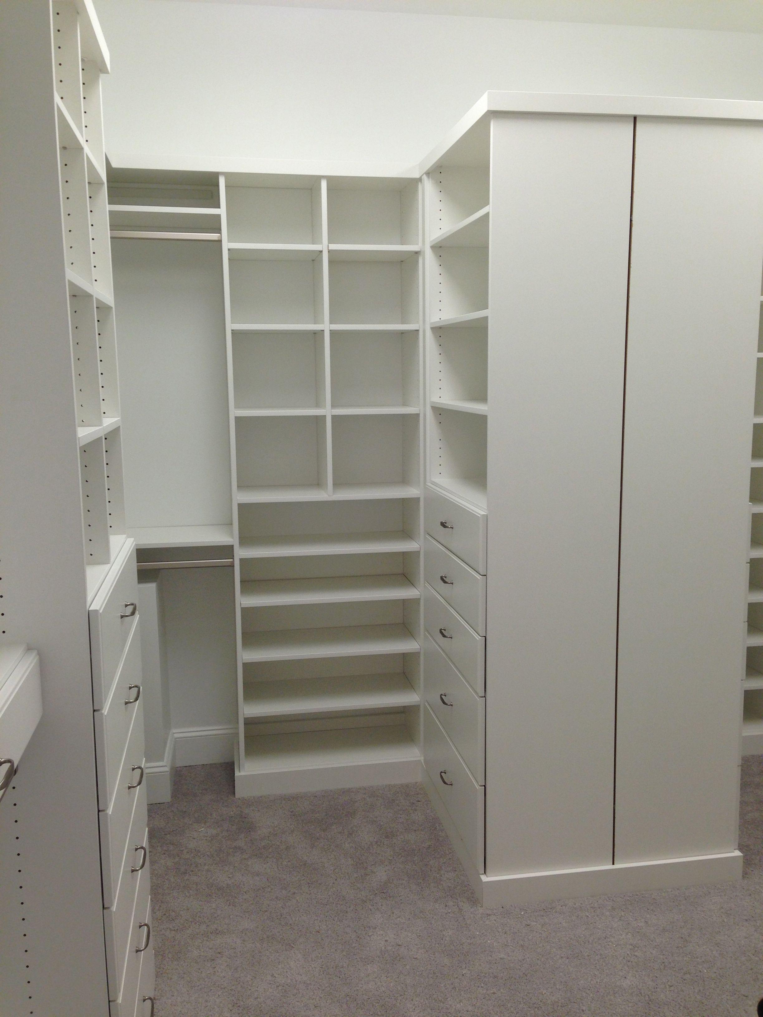 Closet Creations Built This White Closet