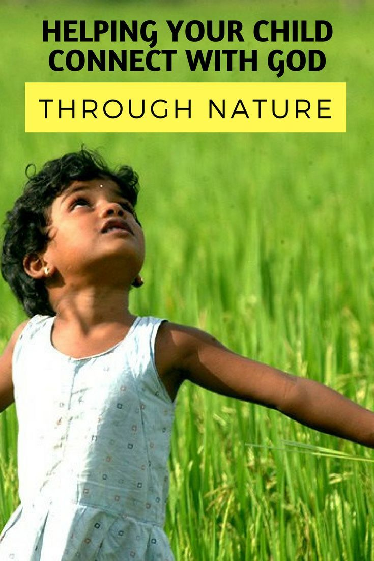 Helping your child build their relationship with God through nature via @cthomaswriter