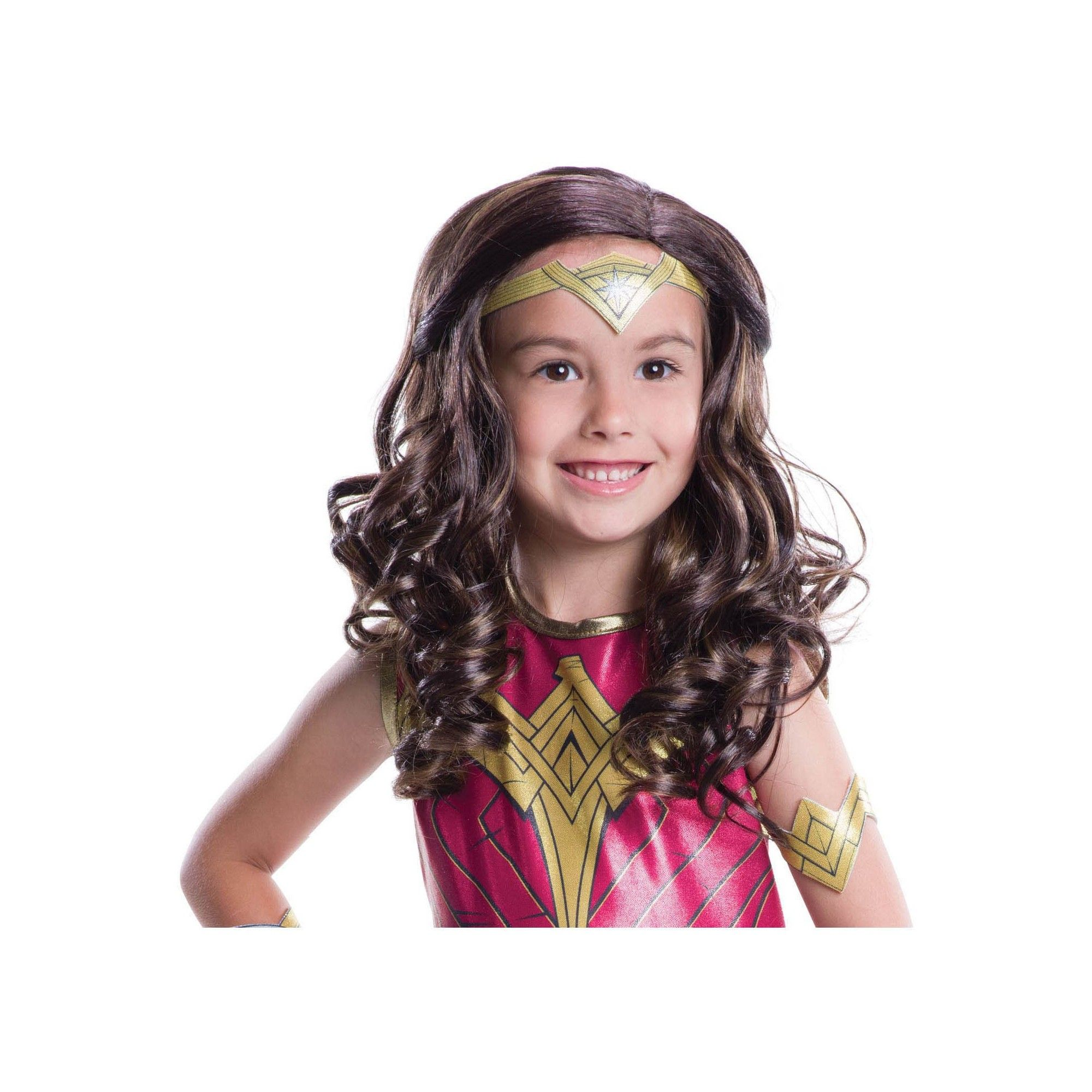 Girlsu Wonder Woman Wig MultiColored  Products  Pinterest