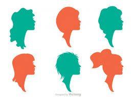 Resultado de imagem para rosto mulher silhueta