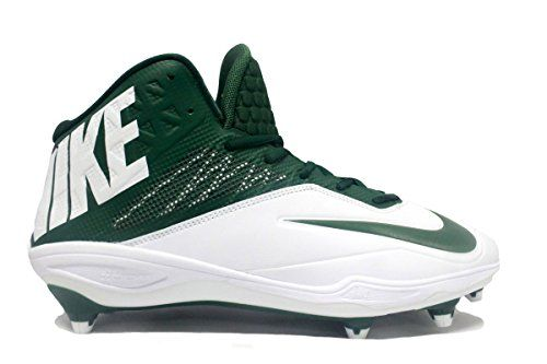 faea3f26e78a Nike Zoom Code Elite 3/4 Detachable Football Cleats (12.5, White/Green)