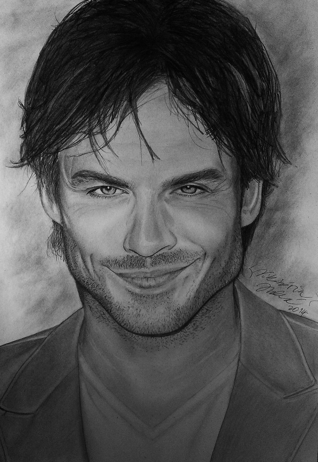 Ian somerhalder by on deviantart - Vampire diaries dessin ...