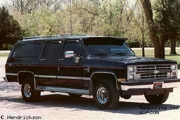 1987 Chevy Sub Chevy Suburban Chevrolet Suburban Suburban