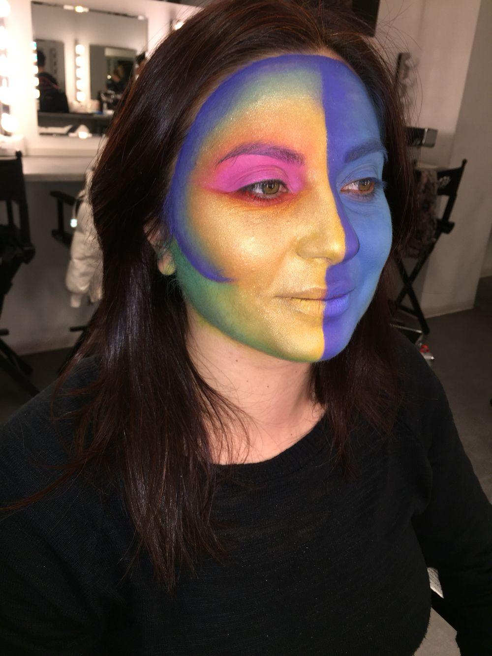 Teatrale colorato