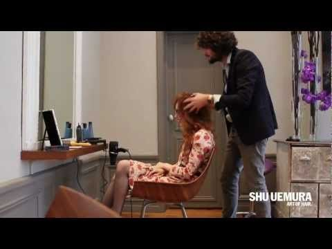 Louise du blog Pandora chez David Lucas pour SHU UEMURA ART OF HAIR