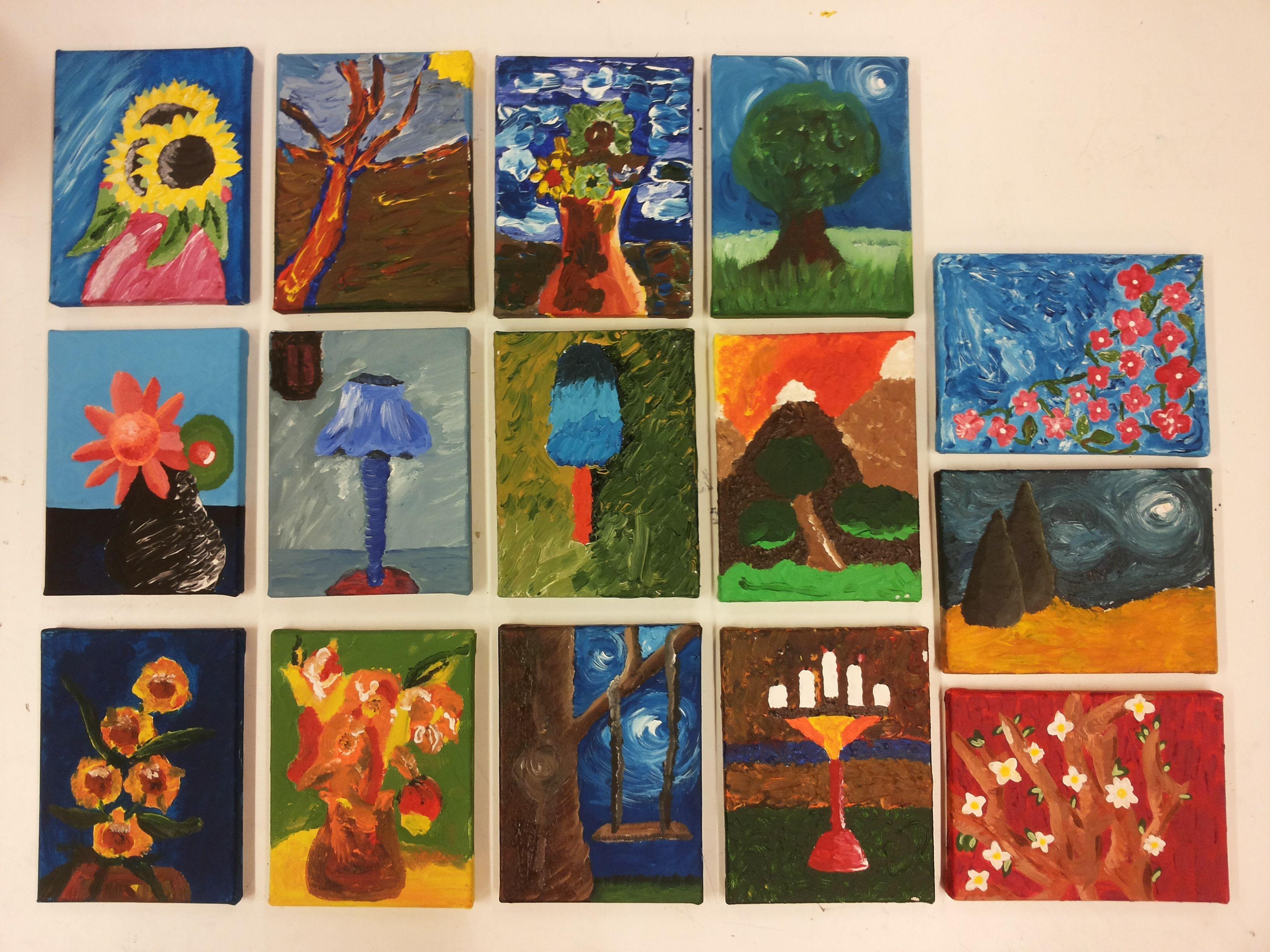 Pasteus schilderen klas showcase zonegge