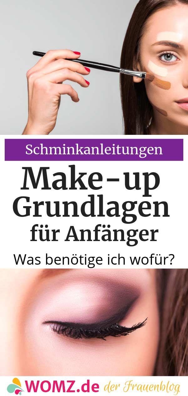 Make-up Grundlagen: Was brauche ich wofür? – WOMZ