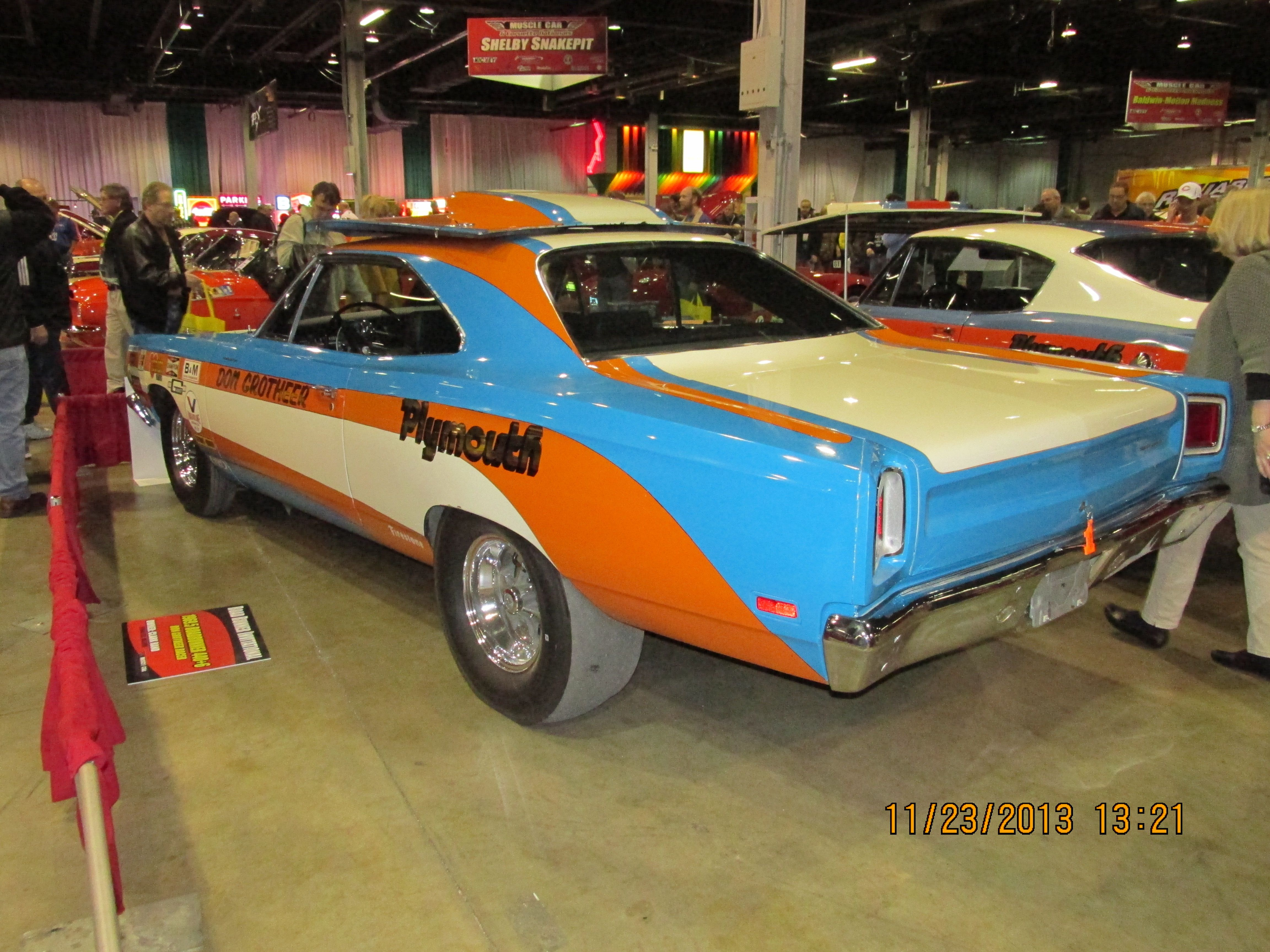 1969 plymouth roadrunner 6 pack car love the paint scheme
