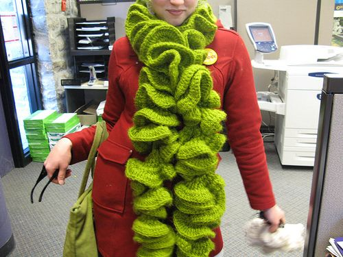 Ruffle Scarf Crochet Pattern | ... is your scarf on drugs (CRAZAY ...