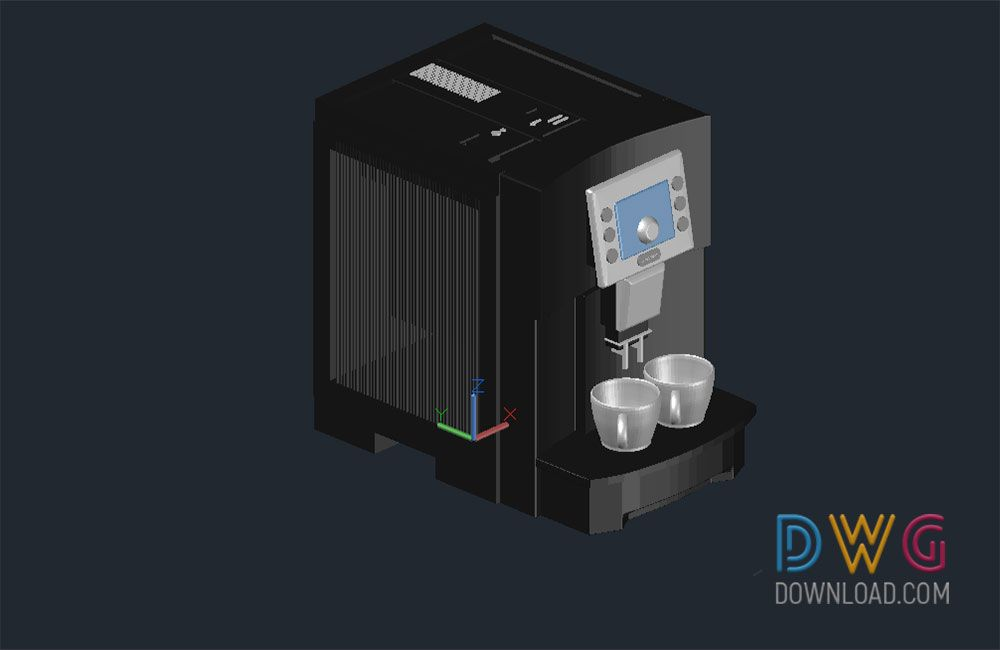 Coffee machine 3d dwg and about 3d dwg drawing kitchen appliances coffee machine 3d dwg and about 3d dwg drawing kitchen appliances cad blocks ccuart Gallery