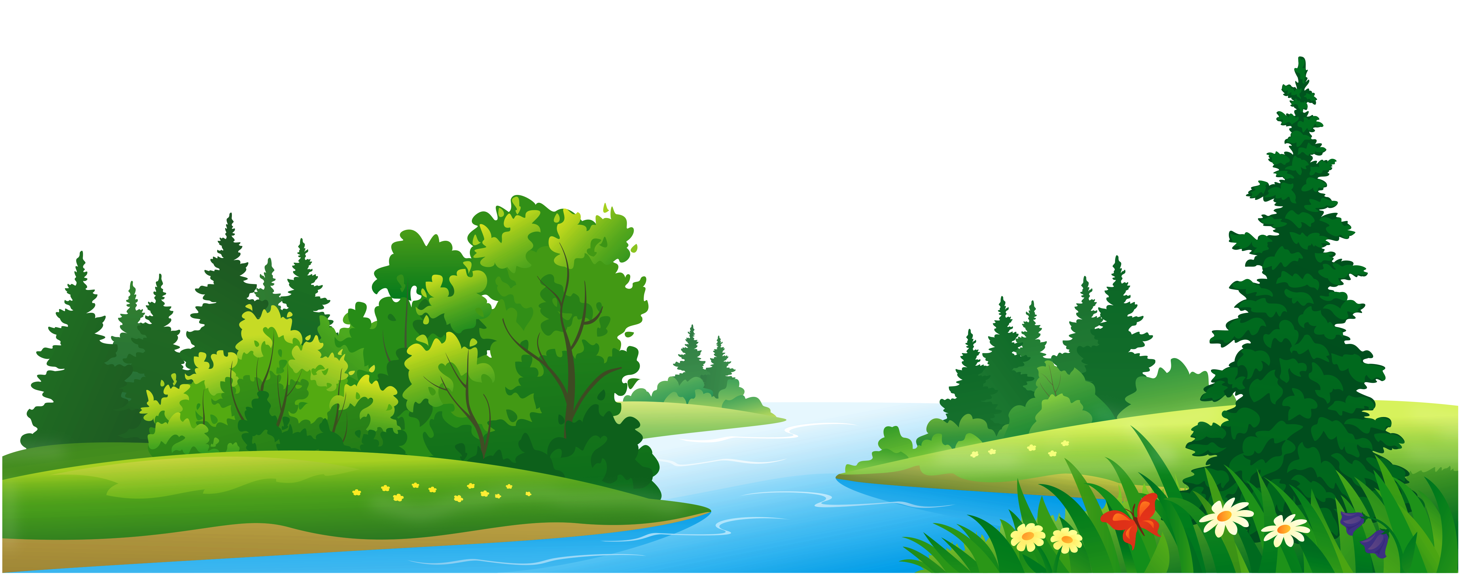 Grass Lake And Trees Transparent Png Clipart Gallery Yopriceville High Quality Images And Transparent Png Free Clipart Nature Clip Art Grass Lake