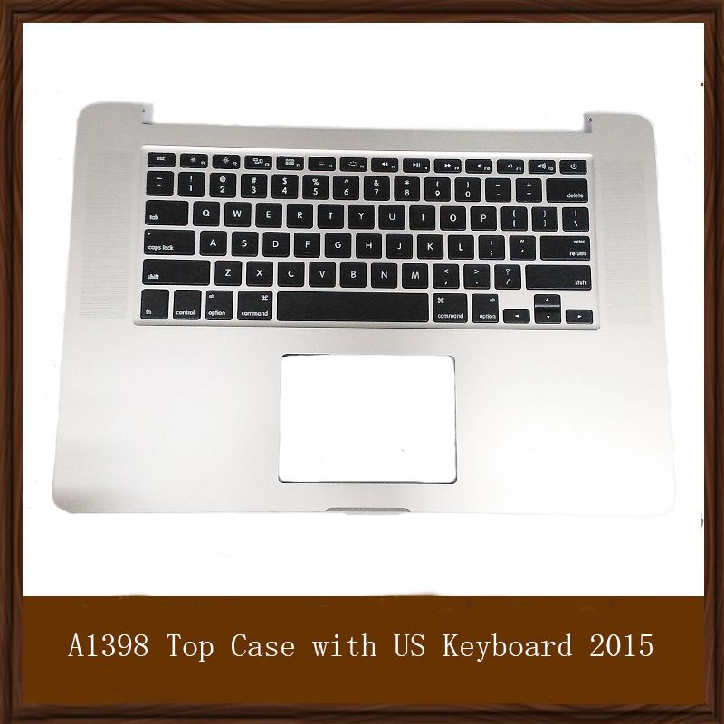 Original Quality A1398 Top Case For Apple Macbook Pro 15 Retina A1398 Top Case With Keyboard For 2015 Us Vers Keyboard Computer Peripherals Apple Macbook Pro