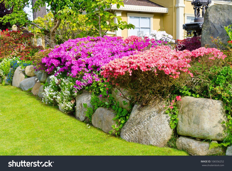 stone landscaping ideas - Google Search | GARDEN IDEAS: upstate NY ...