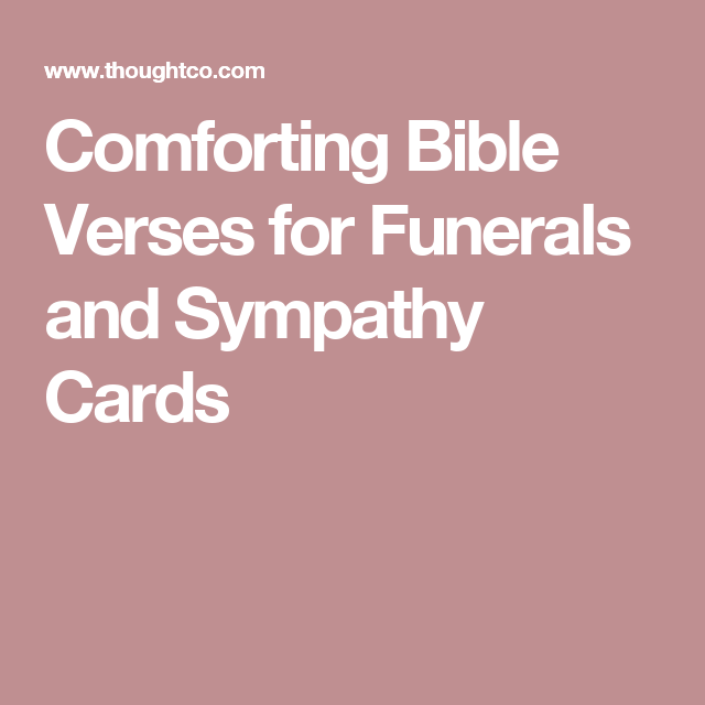 comforting bible verses for funerals and sympathy cards funeral poems for mom funeral verses - Bible Verses For Sympathy Cards