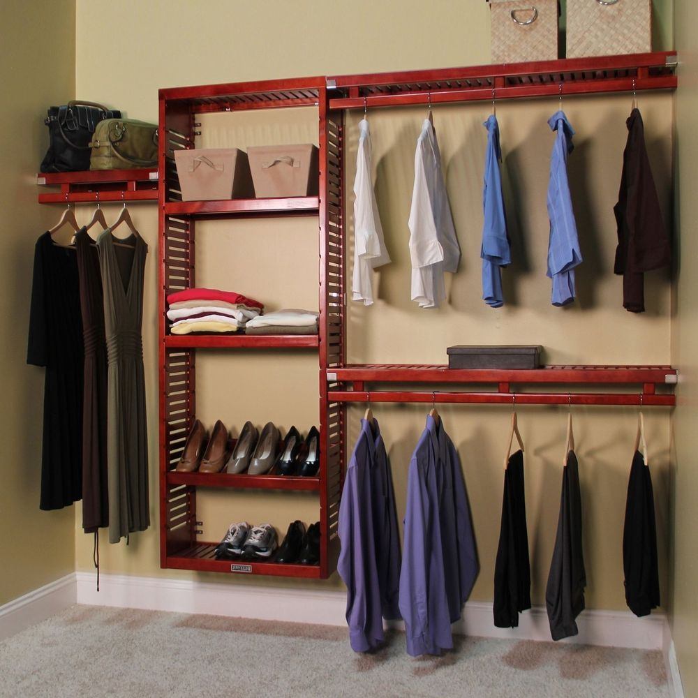 Closet Organizer System Wood Storage Clothes Rack Cubby Organization Shelves Diy Closet System Closet Shelving System Closet System