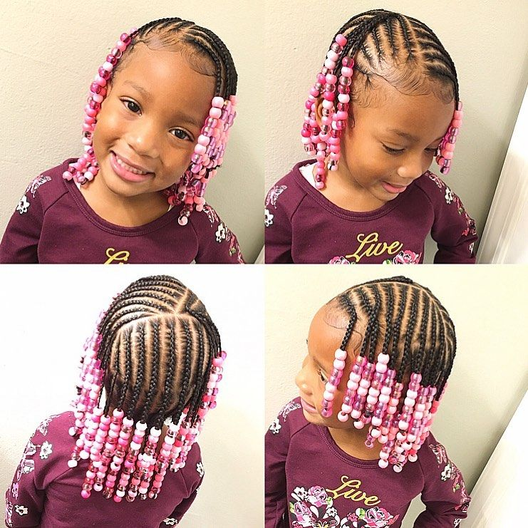 Tylica On Instagram Kids Braids No Weave Added Natural Naturalhairstyles In 2020 Black Kids Hairstyles Kids Braided Hairstyles Black Kids Braids Hairstyles