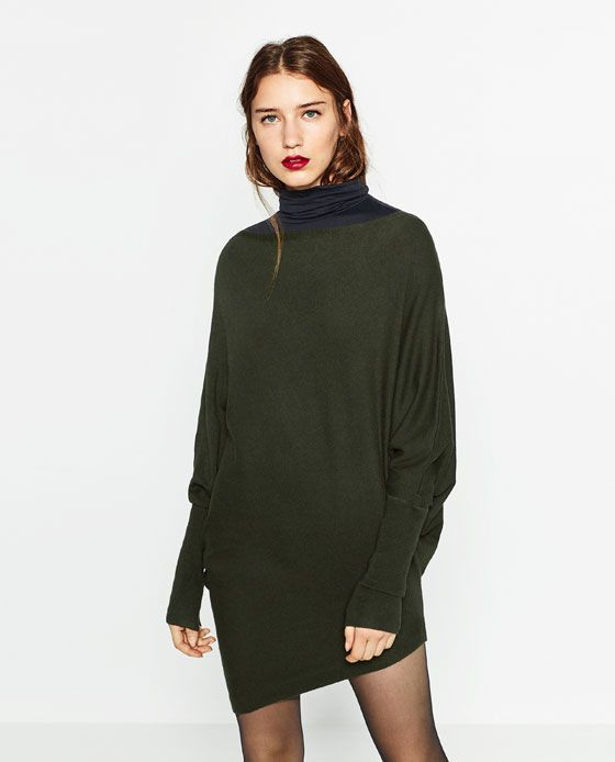 8a17fa3a8d87bb Image 5 of OVERSIZED SWEATER from Zara | I Got My Red Dress On ...