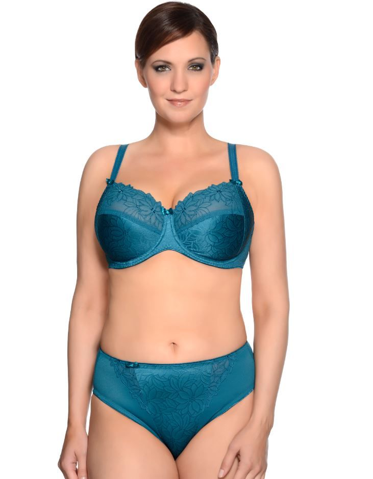 9b65f21e191 Amelie Bra   Briefs from Ulla Dessous now in Teal colour