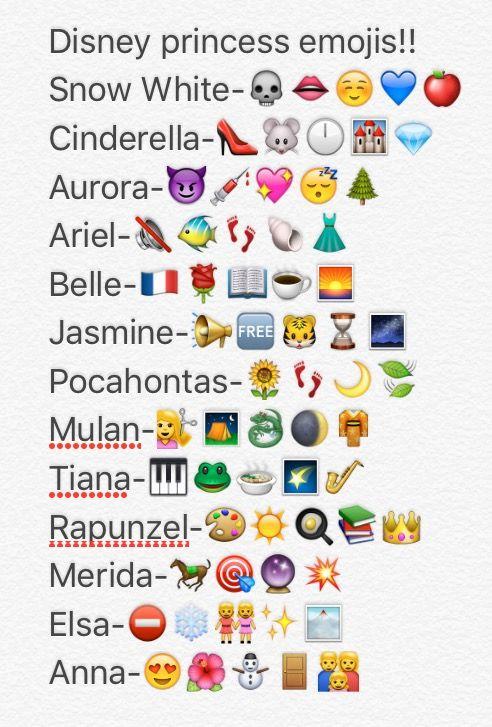 Disney Princess Emojis! | You know us and Facebook Facebook