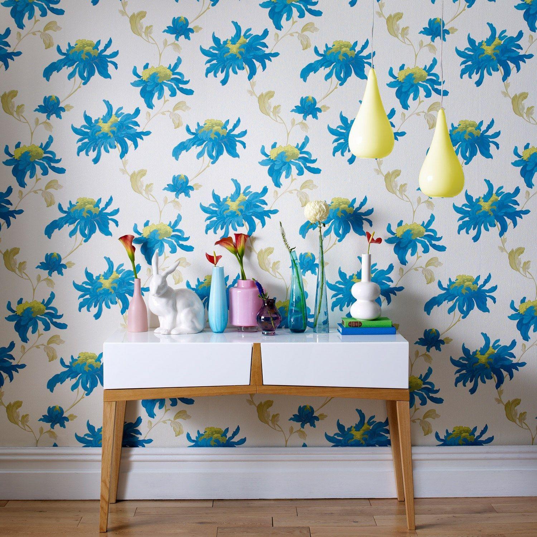 Graham Brown Julien MacDonald Fabulous Teal Wallpaper Laylagrayce New
