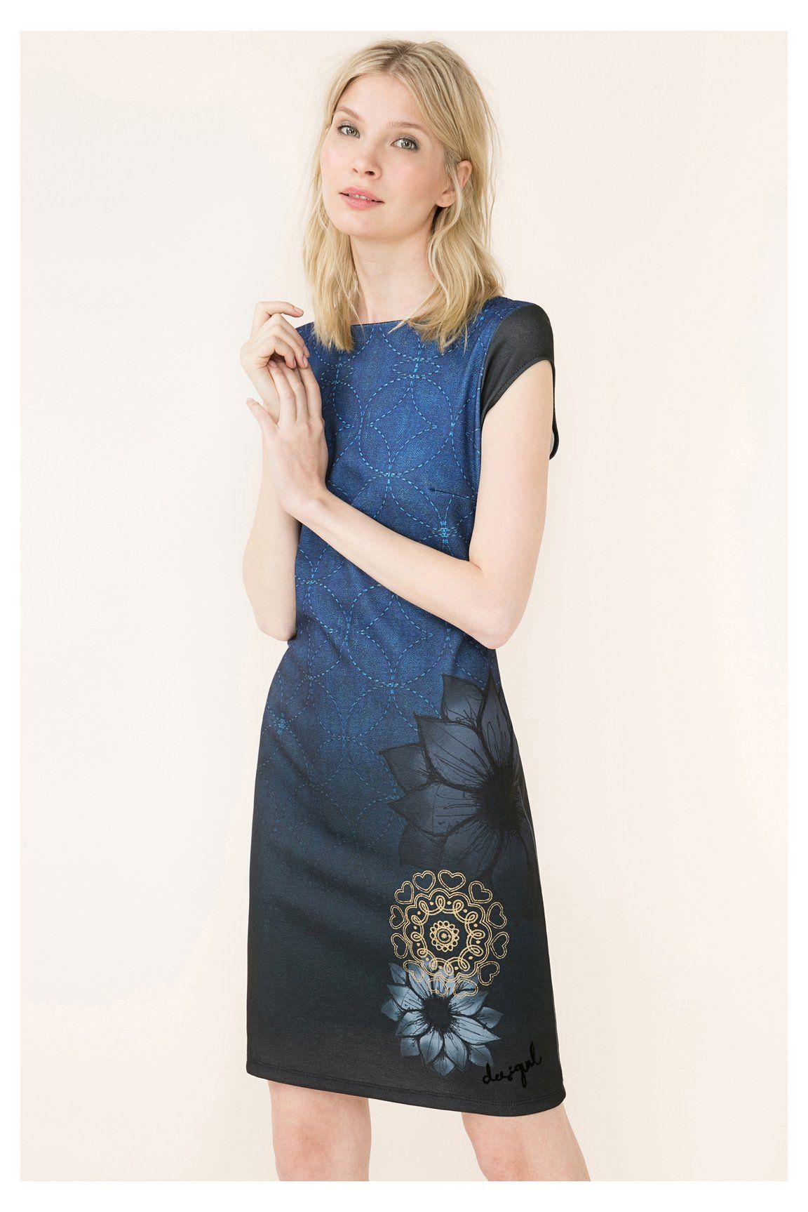 Desigual Estelar - 67V28C3 | Desigual dress AW16 | Pinterest