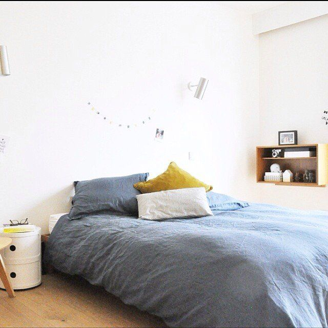 Parure de lit en lin Home - Bedroom Pinterest Parure de lit