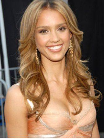 Hair Color Iwant Jessica Alba Hair Light Golden Brown Hair
