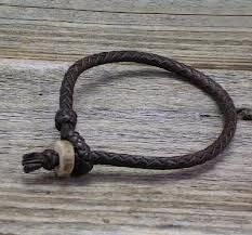 Pin By Hayley Demarchis On Things To Make Mens Leather Bracelet Braided Leather Bracelet Leather Bracelet