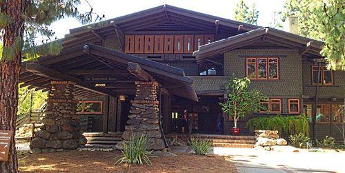 Greene and greene craftsman style home