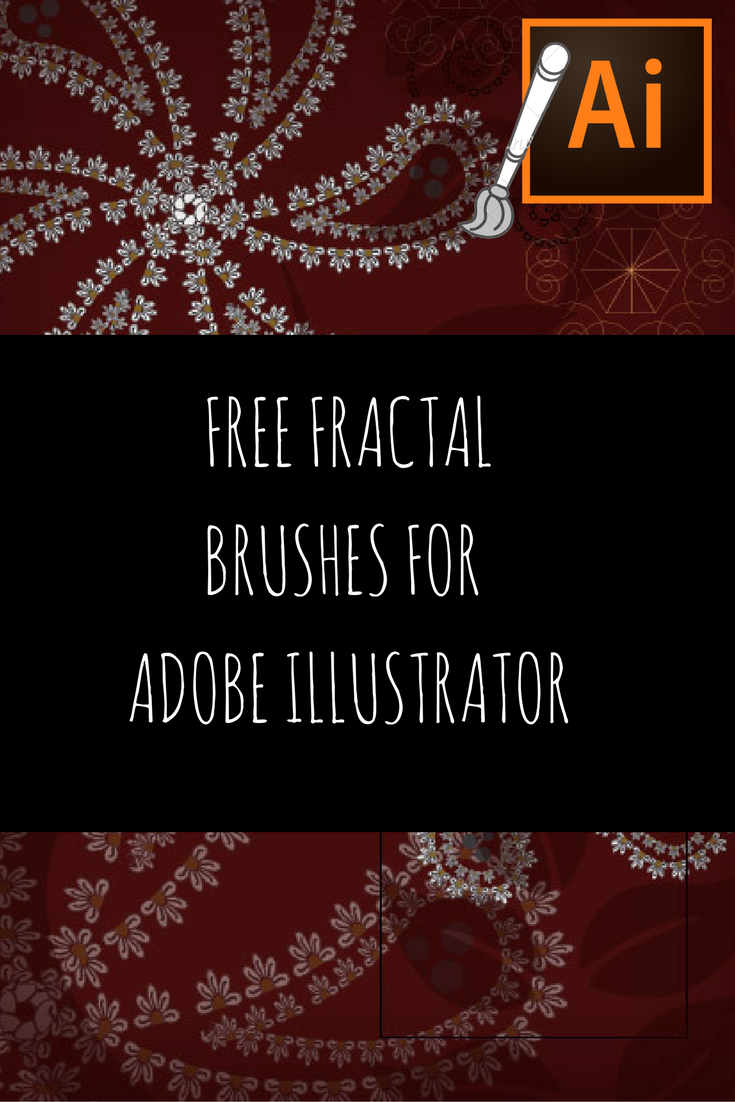 Free Fractal Vector Brushes for Adobe illustrator by www aivault com