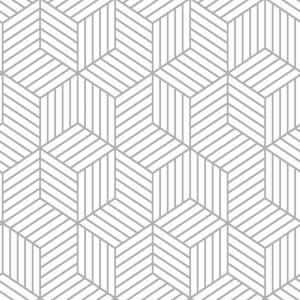 Roommates Stripped Hexagon Vinyl Peelable Wallpaper Covers 28 18 Sq Ft Rmk10705wp The Home Depot Peel And Stick Wallpaper Peelable Wallpaper Vinyl Wallpaper
