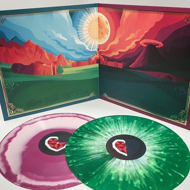 Hero of Time vinyl is shipping now via @iam8bit, and its