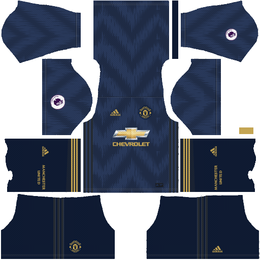 118052b43d4 Manchester United 2018-19 Dream League Soccer Kits 512x512 URL - Third Kit