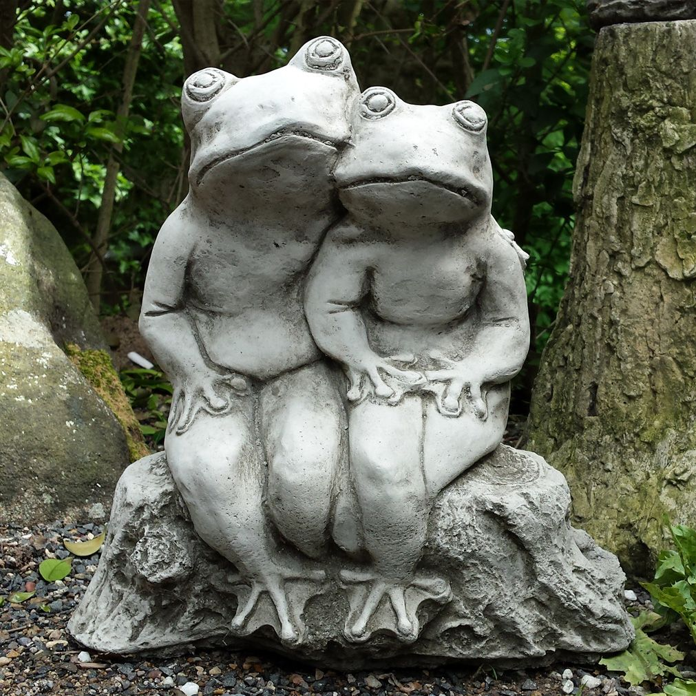 Bud frog garden ornament this charming pair of frog buddies is bud frog garden ornament this charming pair of frog buddies is perfect for positioning by a workwithnaturefo