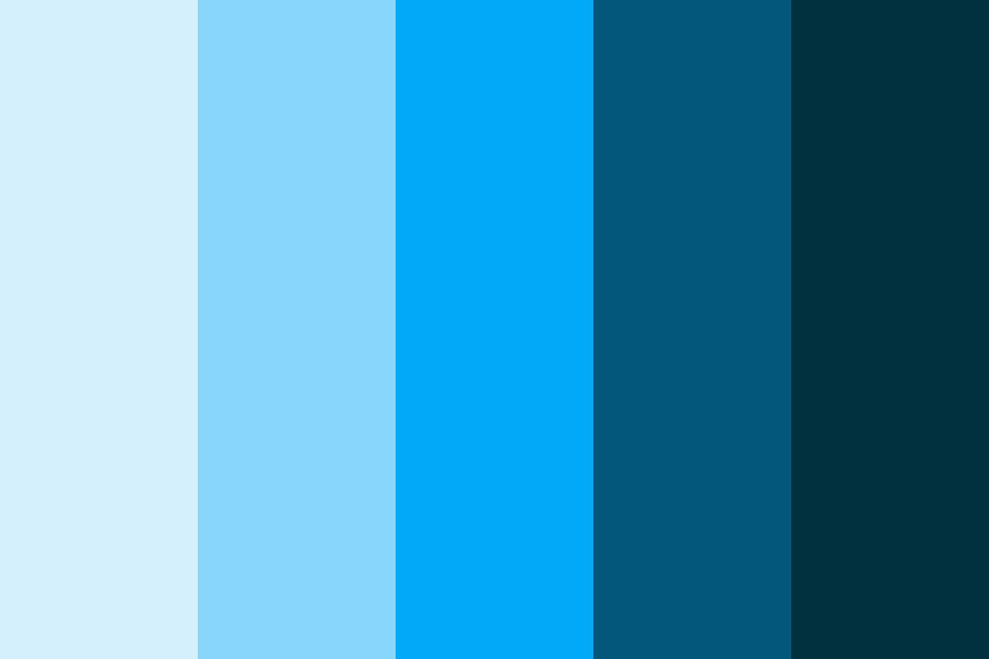 Technology Color Palette