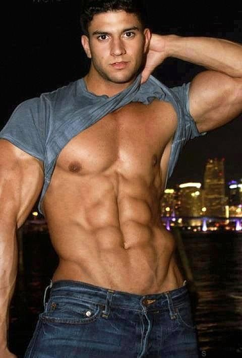 Hot guys abs sexy