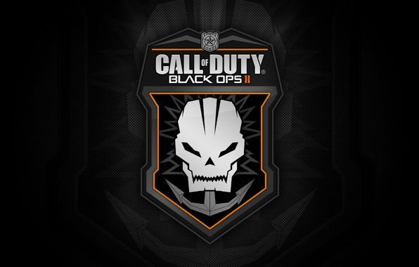 Wallpaper Call Of Duty Black Ops 2 Cod Skull Logo Game Wallpapers Games Download