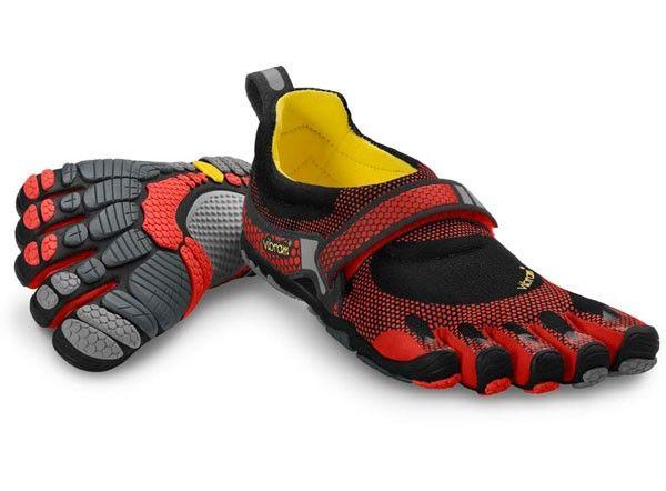 Vibram Homme FiveFingers KSO EVO Training Gym Fitness Chaussures-Bleu Sports