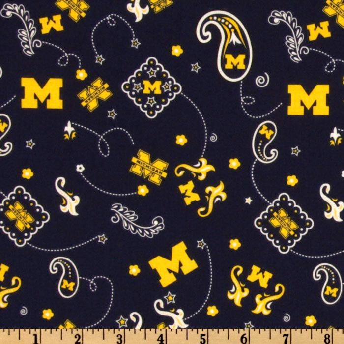 Fabric By The Yard Sykel Enterprises NCAA Cotton Broadcloth Michigan State Collegiate Check Fabric Team Color