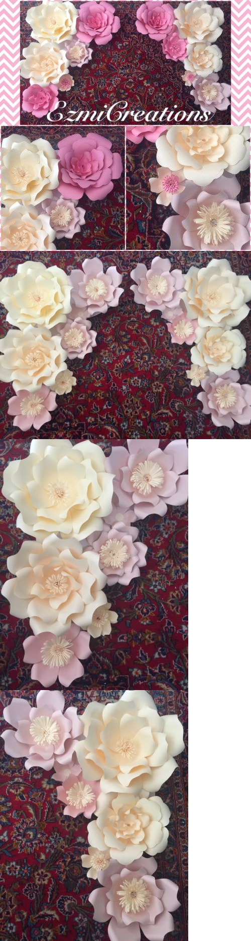 Flower embellishments 160734 paper flowers diy kit buy it now flower embellishments 160734 paper flowers diy kit buy it now only 60 mightylinksfo Choice Image