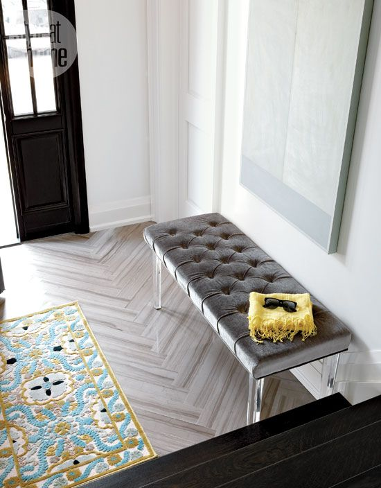 9 fresh ways to decorate with blue Blue grey, Bench and Room - fresh blueprint for building a bench