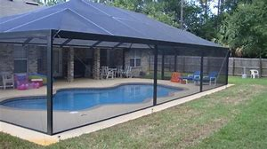Wideview Insect Screen 132 X 100 Pool Shade Pool Screen Enclosure Screened Pool