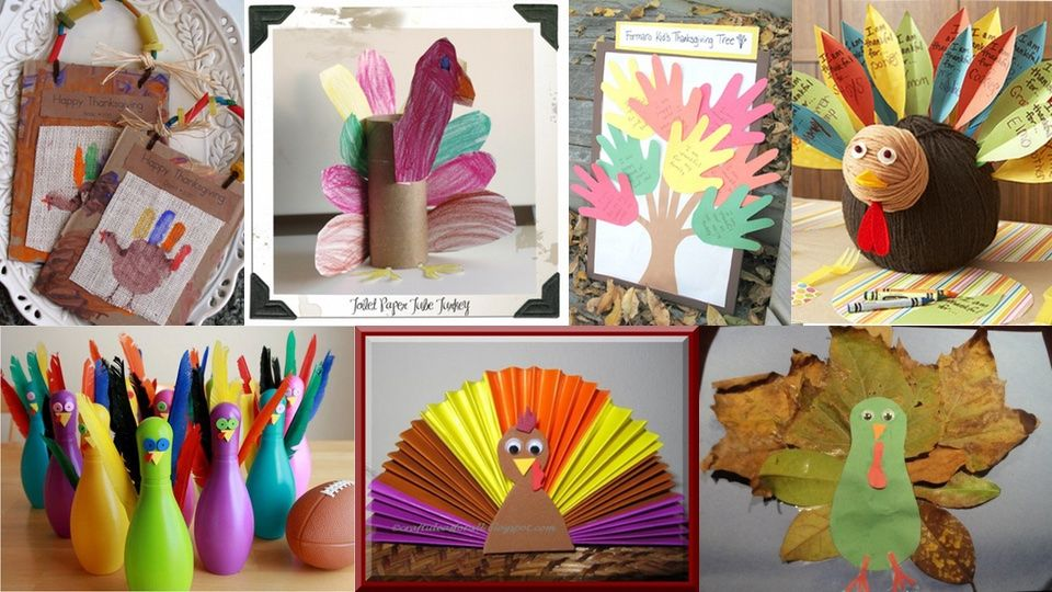 30 Fun DIY Thanksgiving Craft Ideas For Kids And You - http://wp.me/p6wsnp-51d