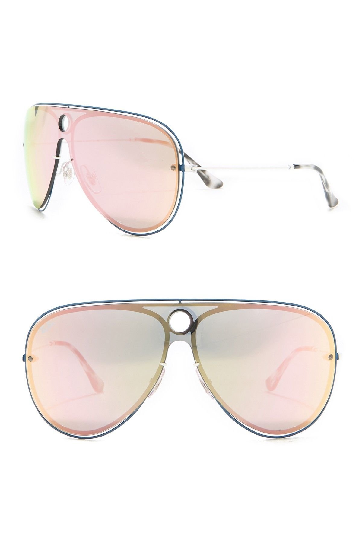 Ray-Ban | 145mm Shield Sunglasses #nordstromrack