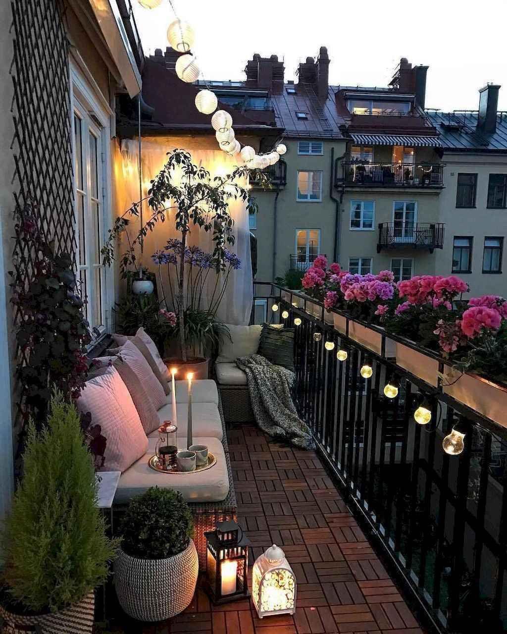 Photo of 55 Small Apartment Balcony Decorating Ideas