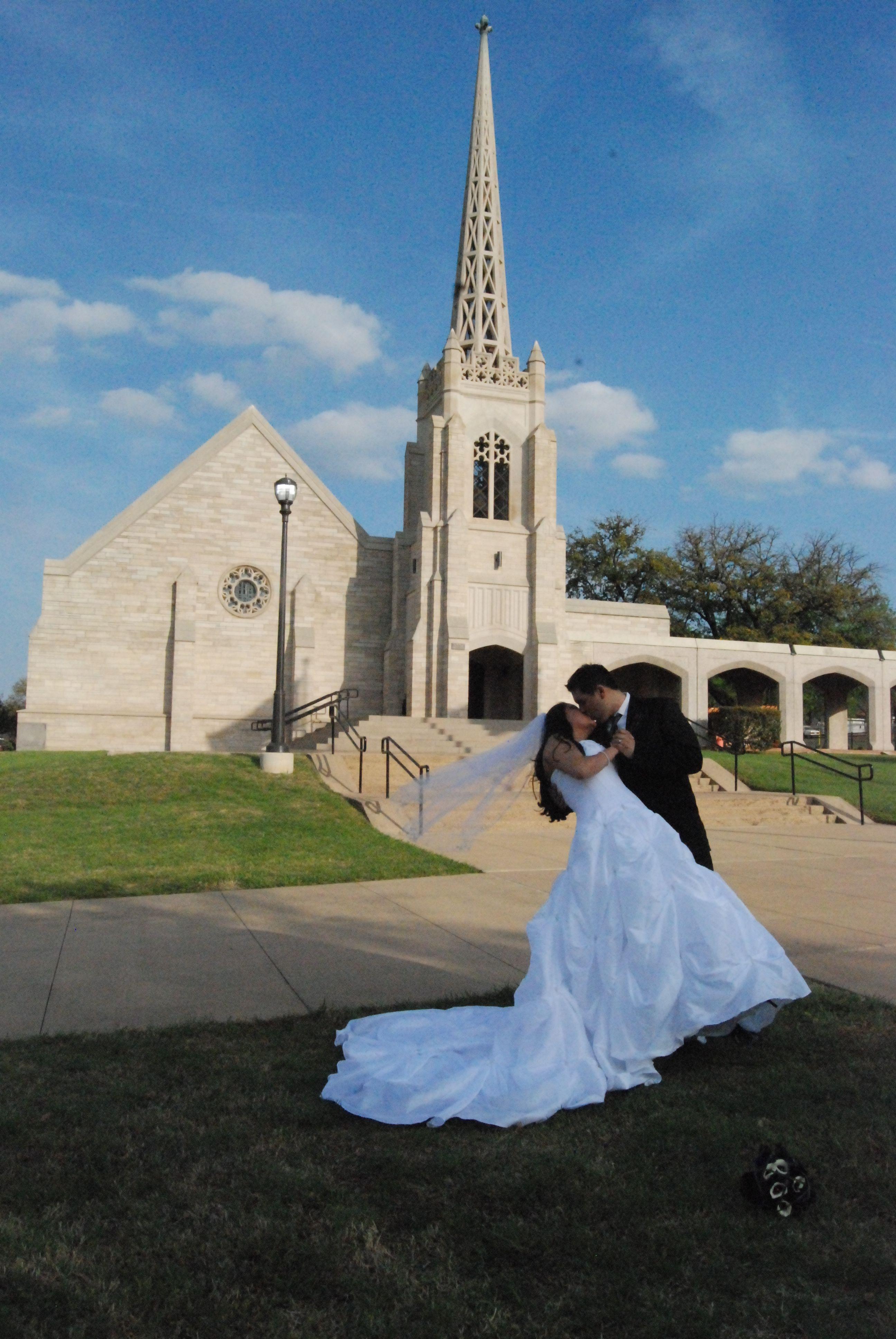 Belltower Chapel & Garden Fort Worth, TX wedding
